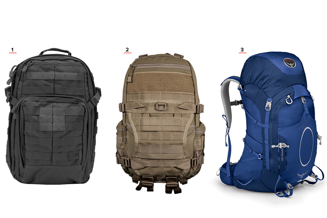 Bug Out Bag Packs