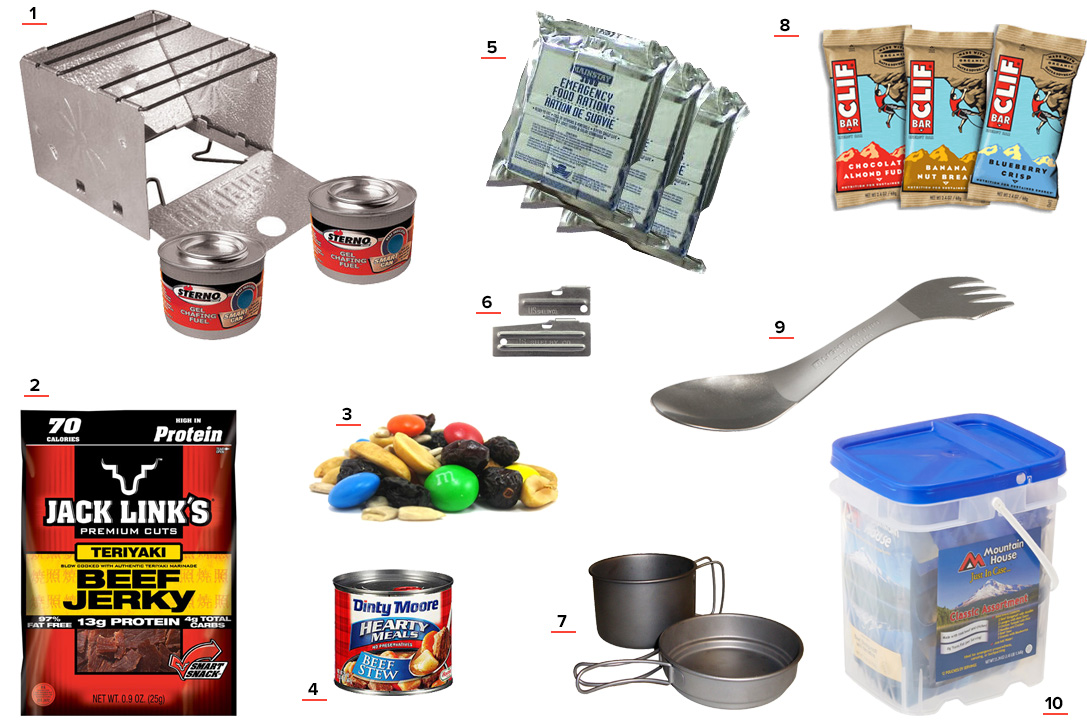 Food Cooking Bug Out Bag