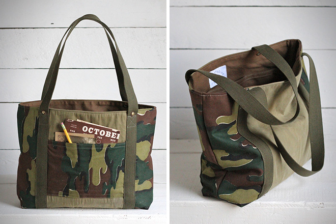 Forestbound Jigsaw Camo Carryall