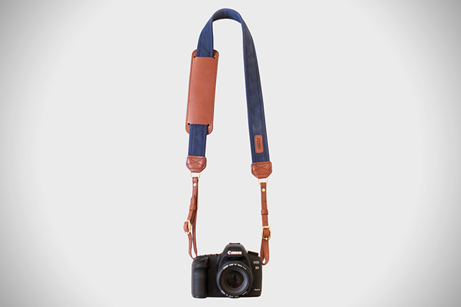 Fotostrap Navy Camera Strap