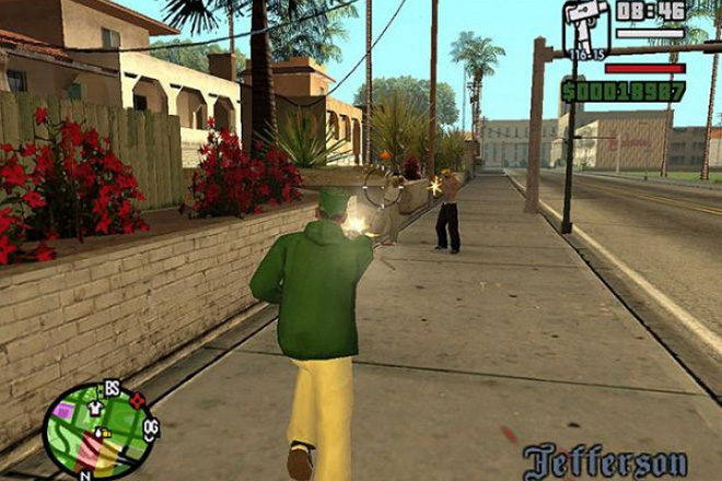 Grand Theft Auto- San Andreas