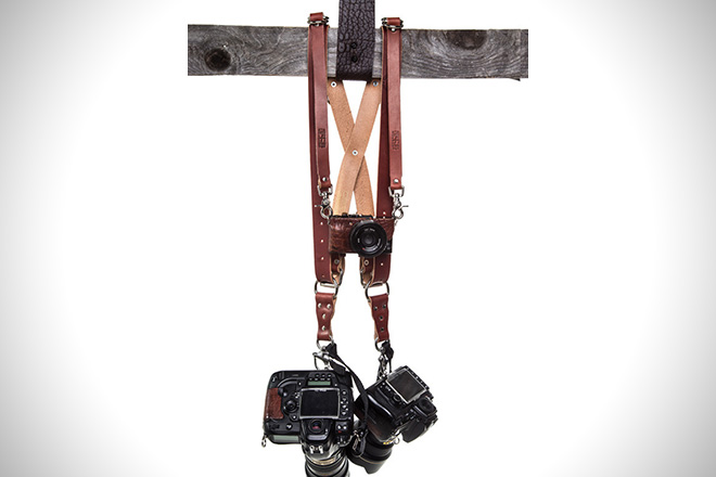 Hold Fast Leather Goods Money Maker Multi-Camera Strap