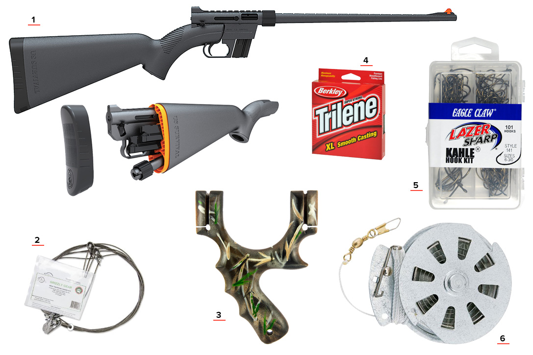 Hunting Fishing Bug Out Bag