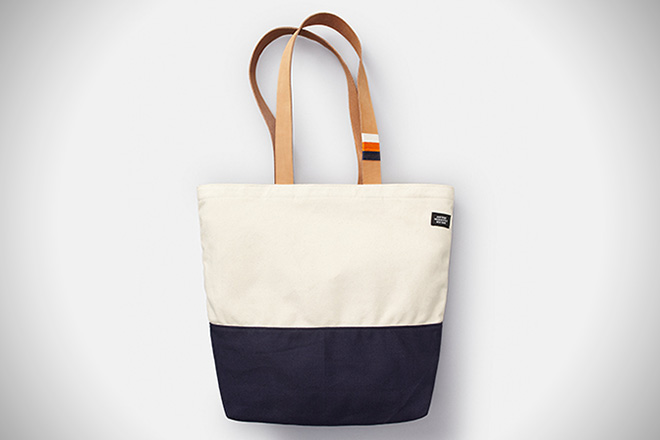 Jack Spade Wrapped Leather Tote