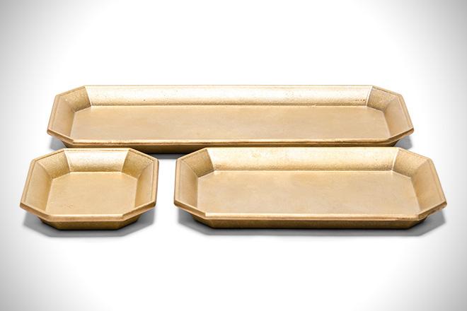 Oji Manasori Brass Desk Tray