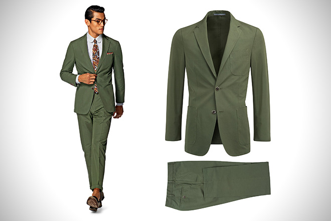 SuitSupply Copenhagen Green Suit