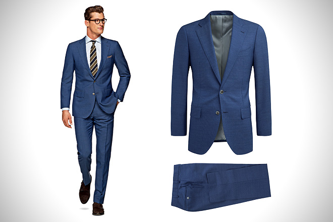 SuitSupply Lazio Blue Suit