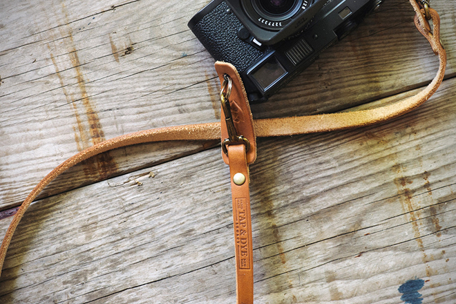 Tap and Dye Legacy Leather Camera Strap