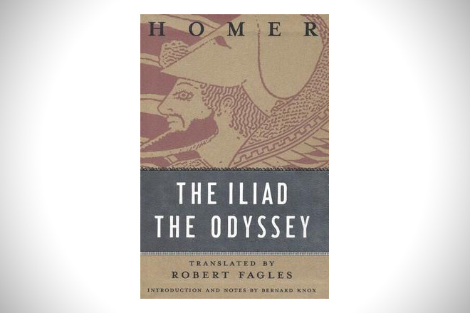 The Iliad : The Odyssey