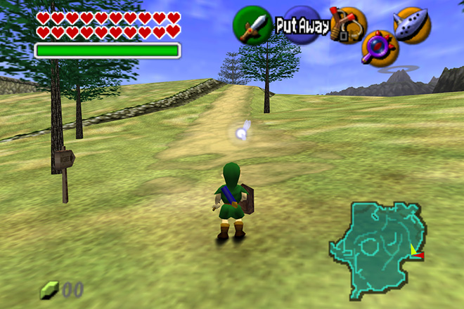 The Legend of Zelda- Ocarina of Time