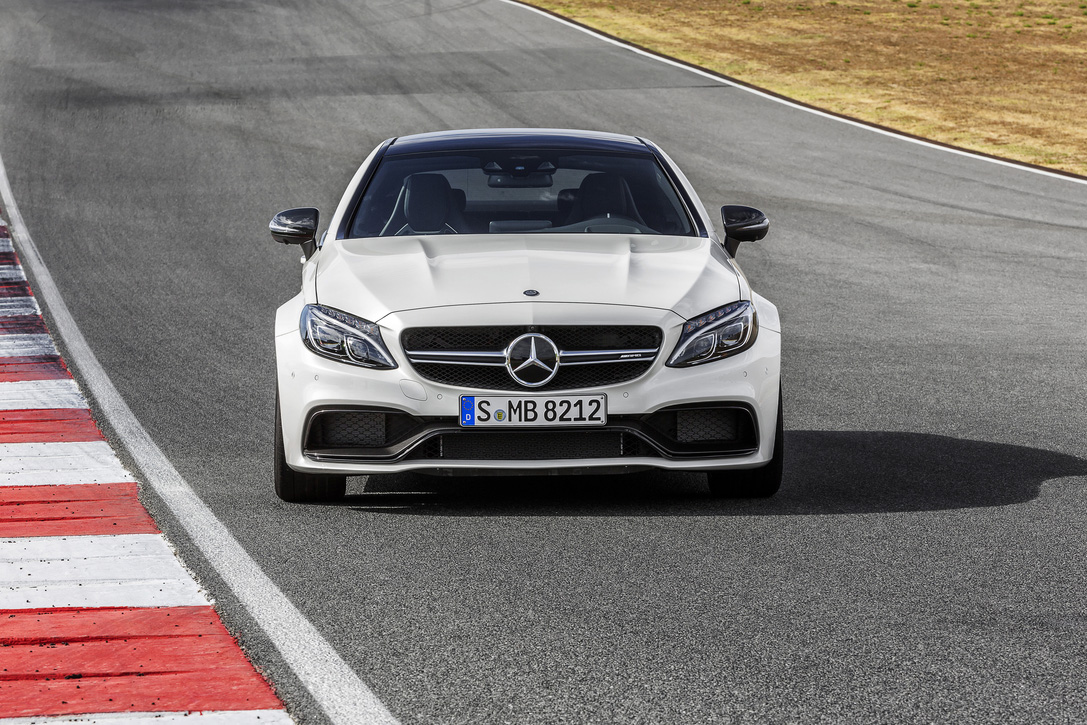 2017 Mercedes Benz C63 Amg Coupe