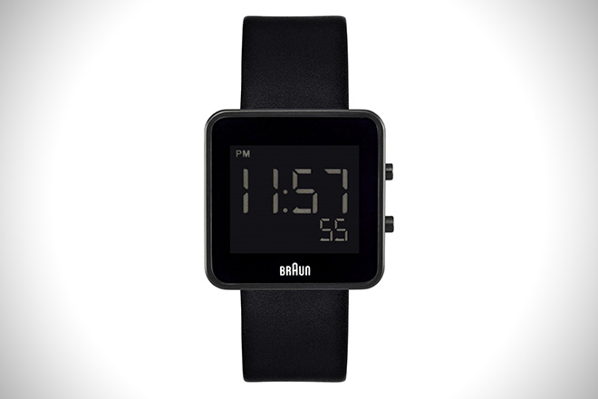 Braun Black Digital Watch