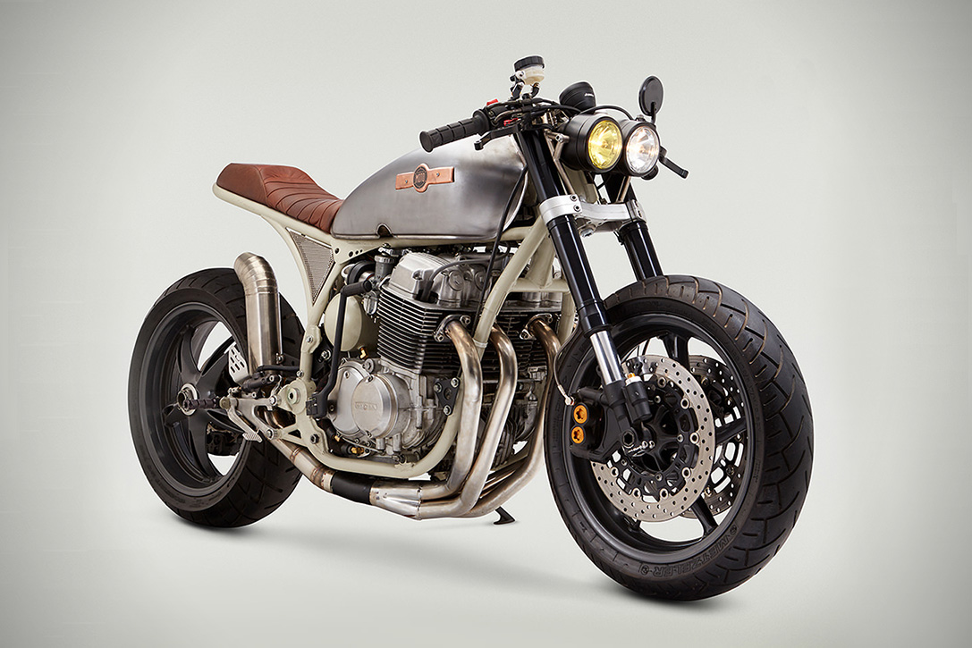 Honda Cb 750 Cafe Racer By Classified Moto Hiconsumption