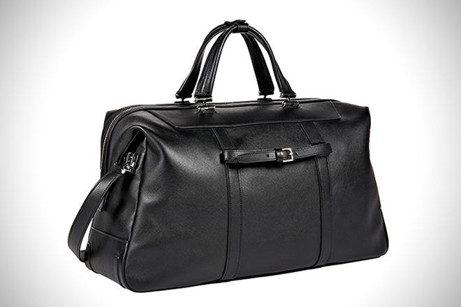 TUMI Astor San Remo Leather Duffel
