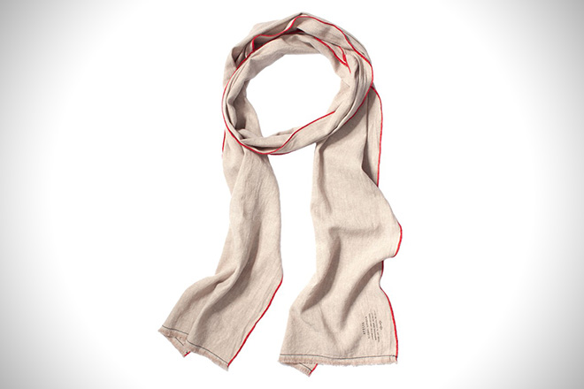 Apolis Washed Linen Scarf