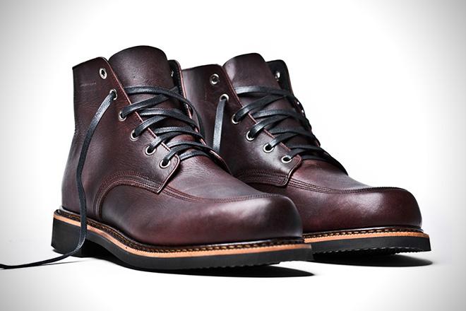 Broken Homme Davis Oxblood Boots