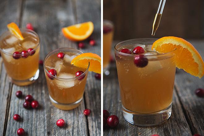 Cranberry Orange Dark 'N' Stormy 1