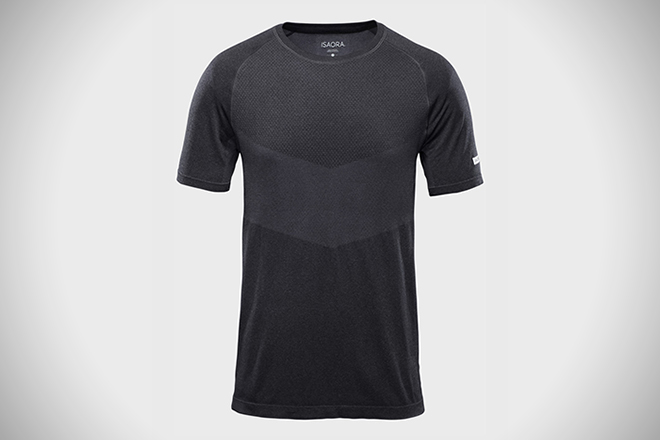 Isaora Engineered Mesh Knit Training Tee