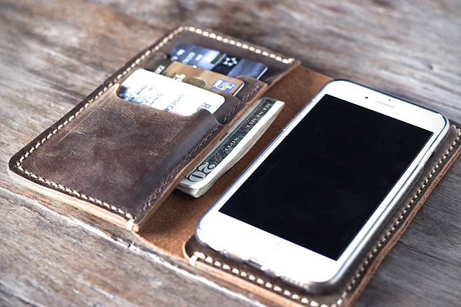 JooJoobs Best Leather iPhone Case