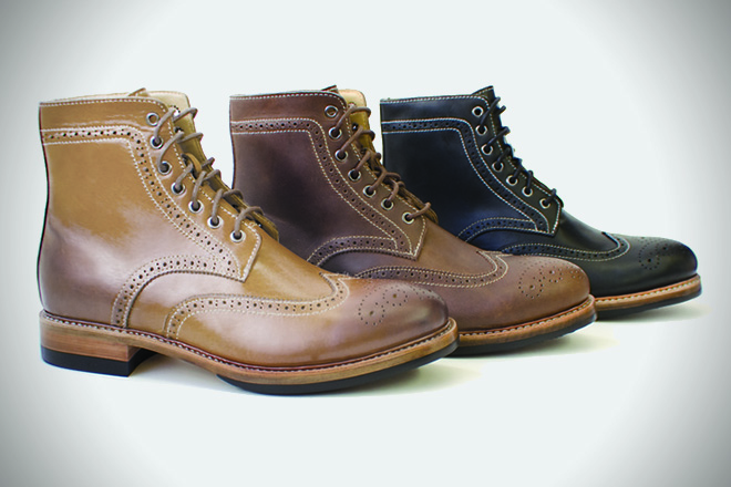 Kendal & Hyde Co. Goodyear-Welted Boots