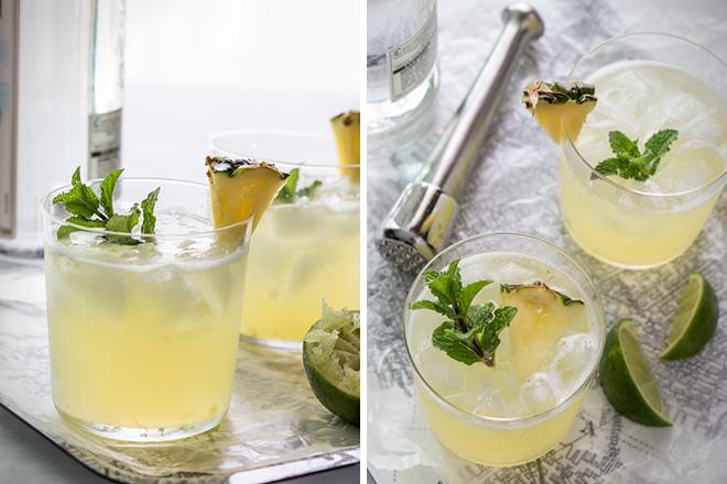 Pineapple Mojito 1