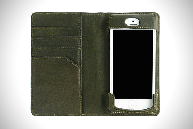 Shinola iPhone Wallet
