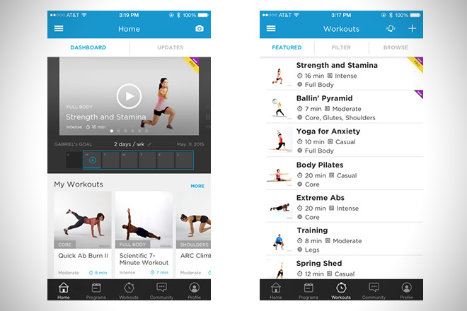 Skimble Workout Trainer 1