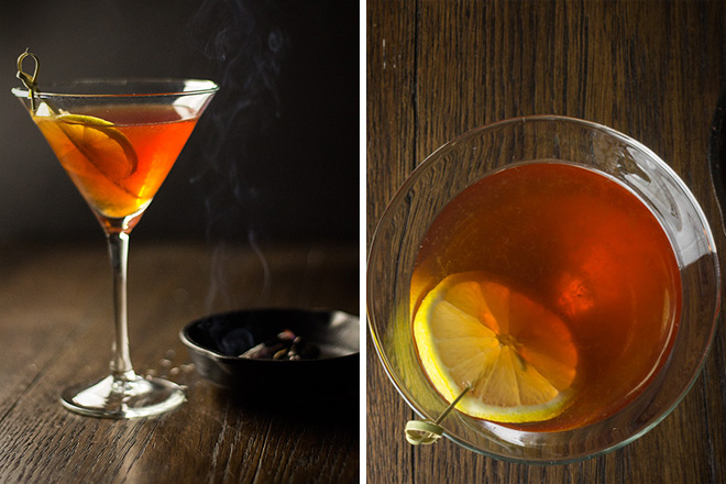 The Yuletide Fireside Cocktail 1