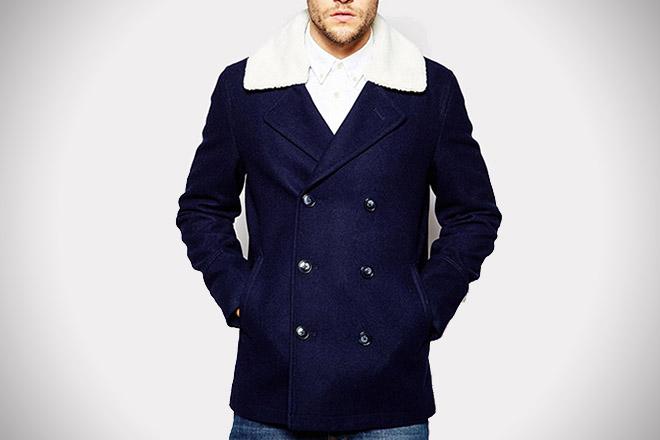 ASOS Wool Pea Coat