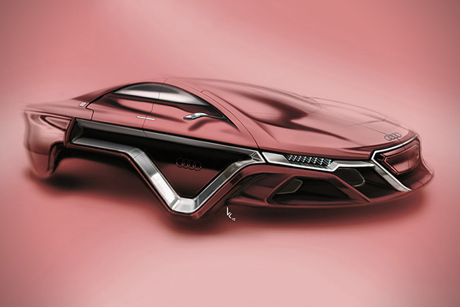 Audi Hover Car Concept By Kevin Clarridge 2