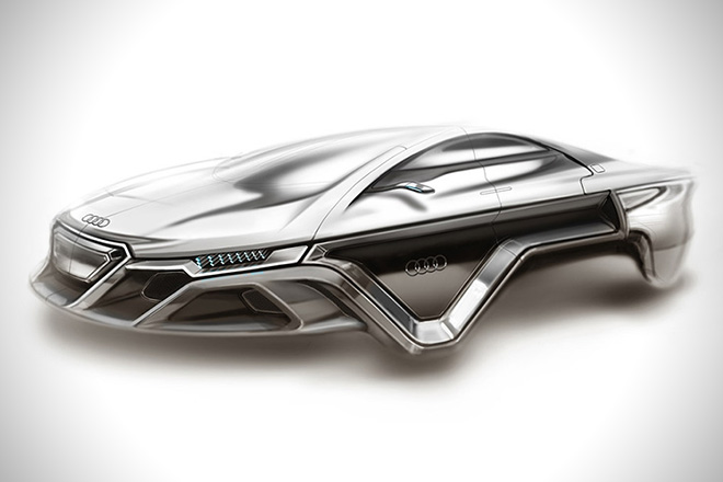 Audi Hover Car Concept By Kevin Clarridge Hiconsumption
