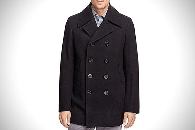 Brooks Brothers Classic Pea Coat