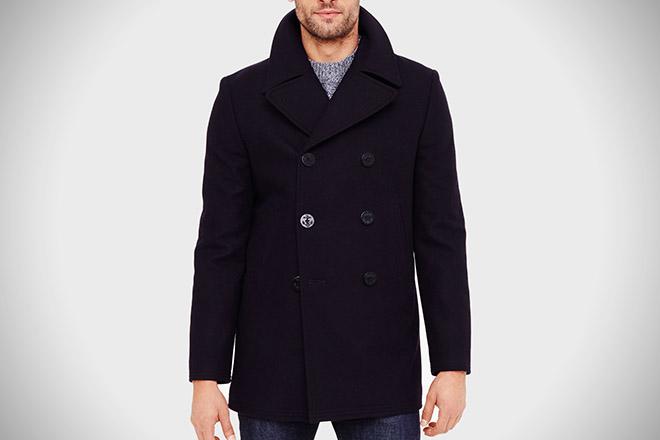 Club Monaco Wool Pea Coat