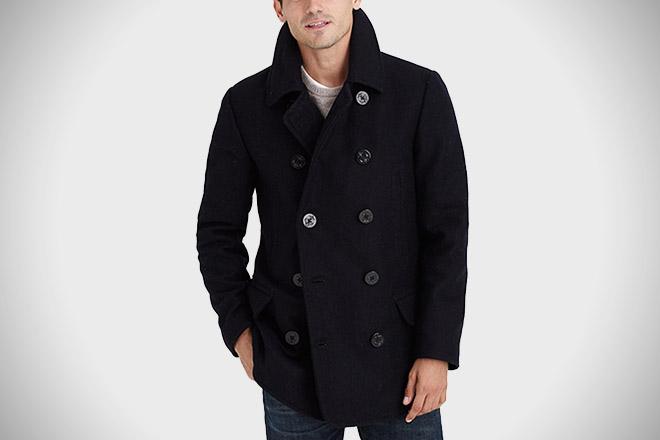 J. Crew Dock Pea Coat