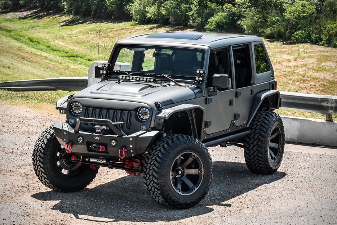 Jeep Wrangler Terminator by Starwood Motors | HiConsumption