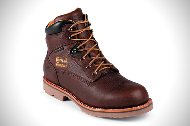 Original Chippewa 6-inch Rugged Outdoor Work Boots f9a39f2185a5