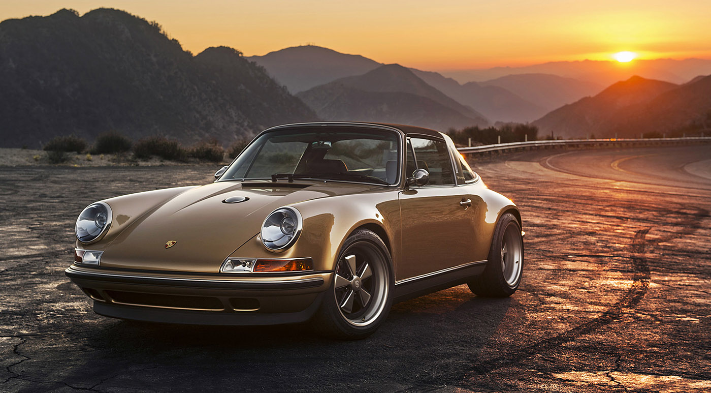 Porsche 911 Targa Reimagined By Singer Hiconsumption
