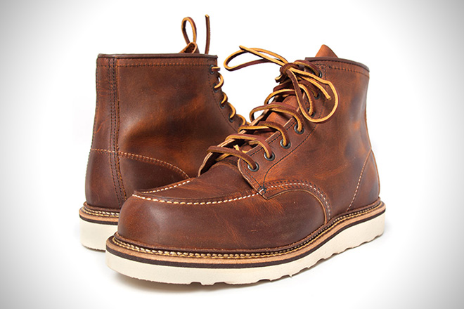 Red Wing Moc Toe Boots