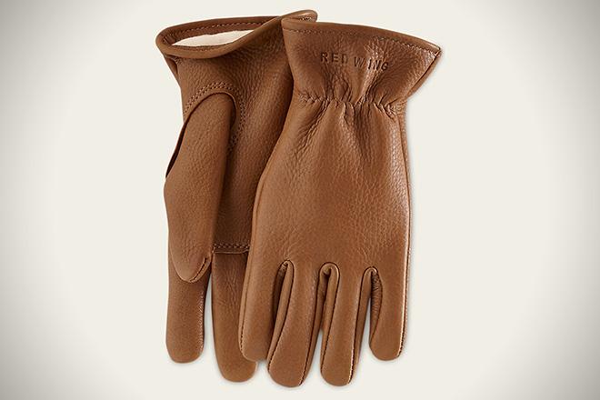 Red Wing Nutmeg Buckskin Leather Gloves