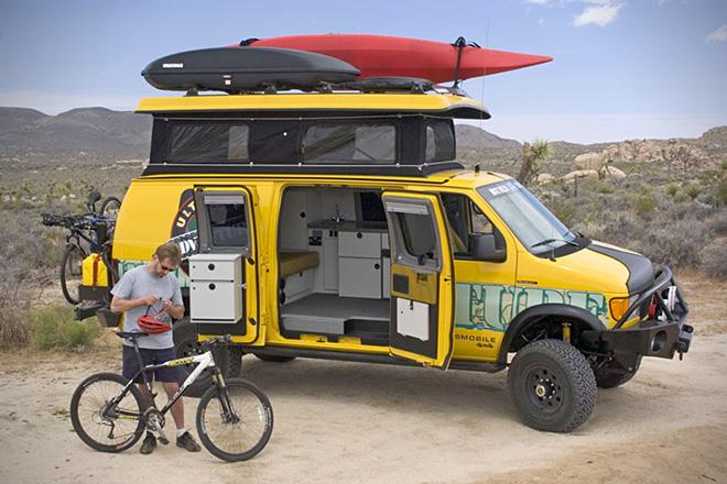 Sportsmobile 4WD Vehicle