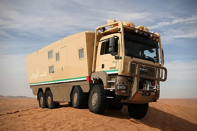 The 10 Most Badass Expedition Vehicles On The Planet | HiConsumption