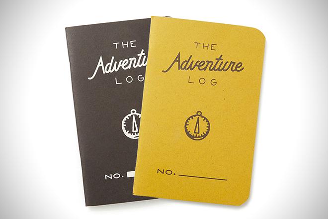 Adventure Log Notebook