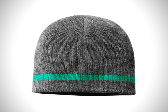 Aether Cashmere Stripe Hat