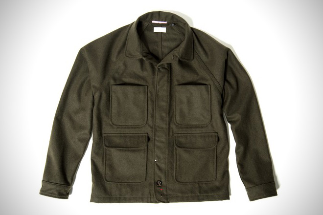 Apolis Wool Chore Jacket