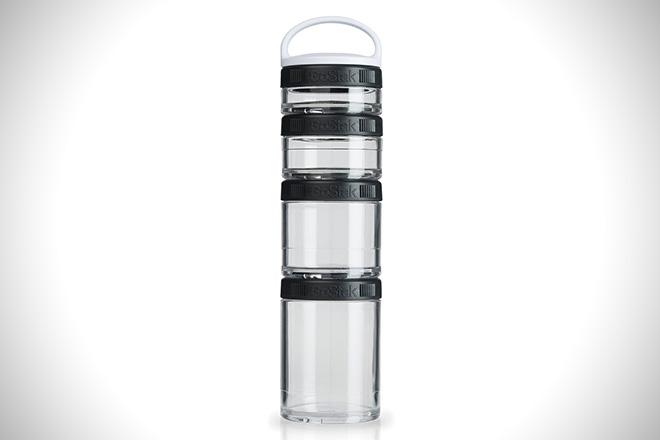 BlenderBottle GoStak Twist n' Lock Storage Jars