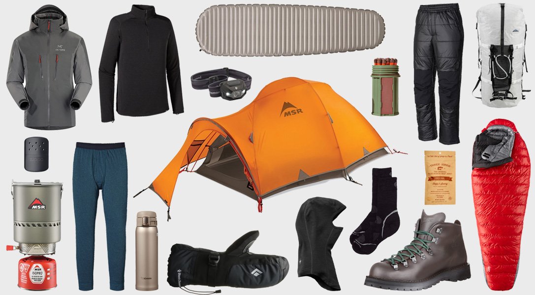 Wild Woods: 18 Essentials for Winter Camping