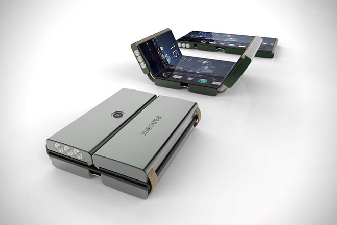 Foldable Drasphone by R&D Core Limited 3