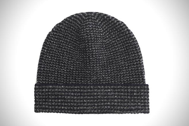 J. Crew Lambswool Marled Striped Hat