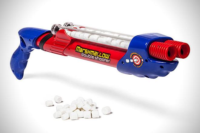 Marshmallow Fun Double Barrel Shooter