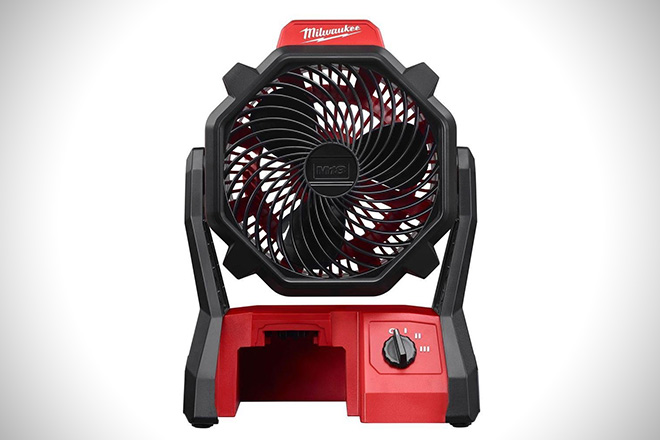 Milwaukee M18 Cordless Jobsite Fan